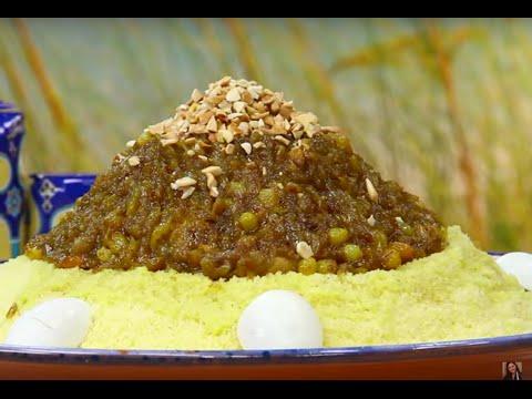 choumicha-:-couscous-au-poulet-et-oignons-caramélisés-(tfaya)-|-couscous-with-caramelized-onions