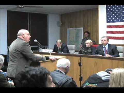 Special meeting of Coos County Commission for ORC mineral le
