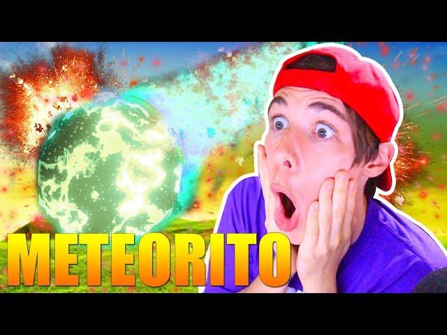El METEORITO es un ALIEN! GRITO EXTRAÑO y VEMOS LA CAÍDA FORTNITE Battle royale