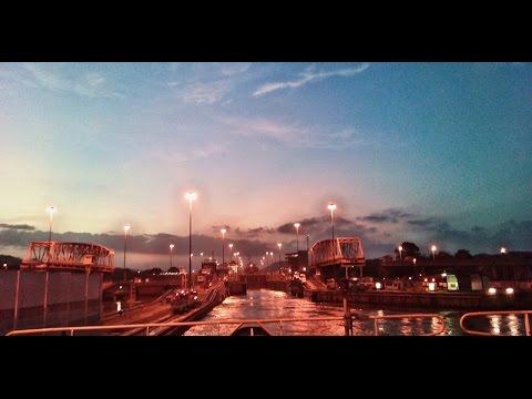 Sea Dias Panama Canal Transit 2015