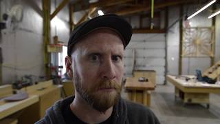 Tour a small professional woodworking shop, The Boardroom