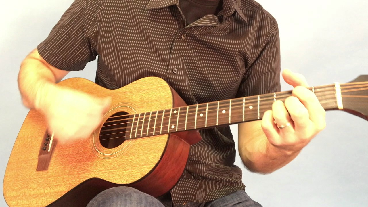 Play Along Mighty To Save With 4 Chords Easy Version Youtube