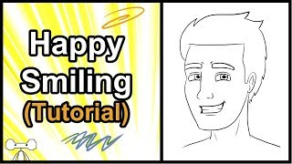 How to Draw Facial Expressions and Emotions - Happy/Smiling Tutorial