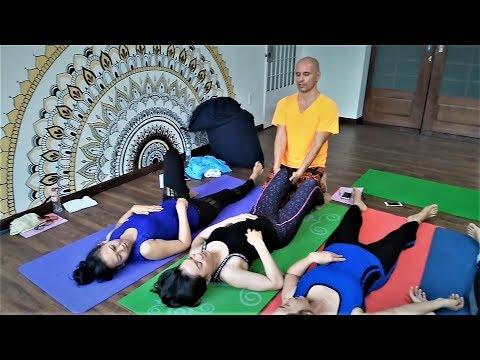 Yoga Stretch Massage training