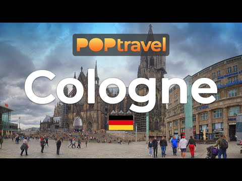 Walking In COLOGNE / Germany - City Centre During Himmelfahrt (2019) - 4K 60fps (UHD)