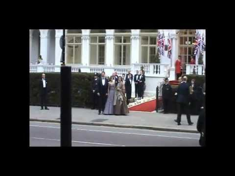 Pre Royal Wedding ALL GUEST PARTY. WILLIAM, KATE, HARRY, MEGAN The Queen and the Duke of Edinburgh