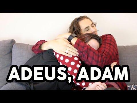 ADEUS, ADAM - Amigo Canadense, amiga brasileira