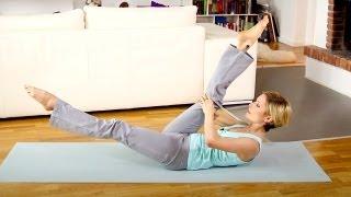 Fatburning Pilates Flow Mittelstufe: Effektiv Pfunde verlieren