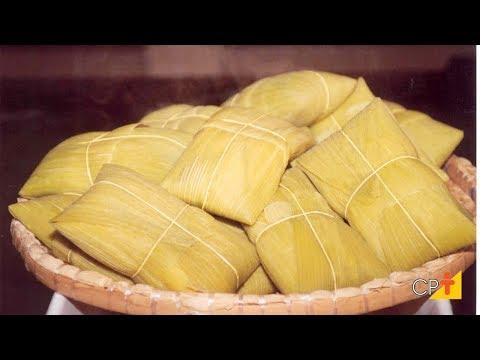 Receita de Pamonha Salgada Recheada - Curso Processamento de Milho Verde