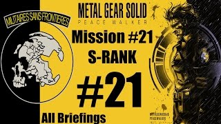 Metal Gear Solid: Peace Walker HD - Stealth Walkthrough - Mission #21 - S-RANK