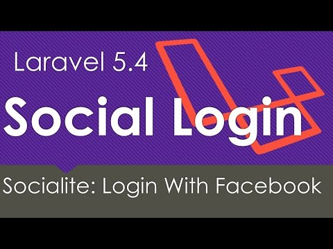 Laravel 5.4 | Login with Facebook | Socialite #1