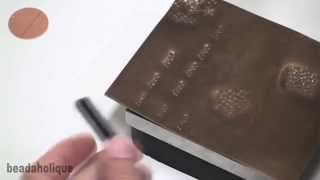 How to Use Alphabet Punch Sets for Stamping