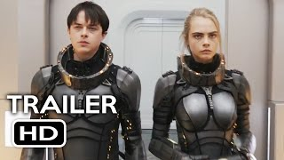 Valerian and the City of a Thousand Planets Official Trailer #1 (2017) Cara Delevingne Movie HD