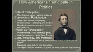 AP Gov Review: Government in America Chapter 6 Review Video