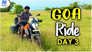 గోవా బీచ్‌లు ఖాళీ | Hyderabad To Goa Day 3 | Telugu Motovlogs | Bayya Sunny Yadav | NextForce Media
