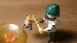 Бейблейд лего битва 3