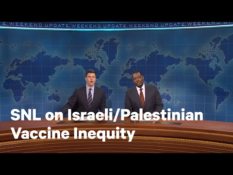 'SNL' Joke Exposes Vaccine Inequality Among Israelis and Palestinians | NowThis