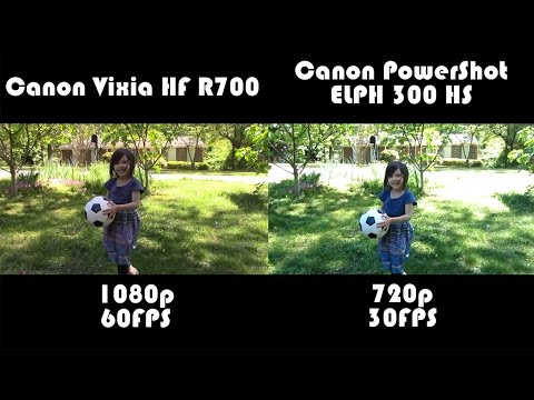 Canon Vixia HF R700 Review and Comparison