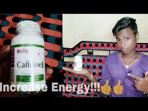 Zenith nutrition's: Caffeine capsule | How to increase power | How to increase energy