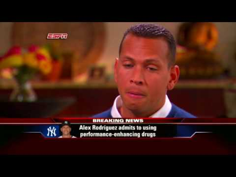 A-Rod admits using steroids