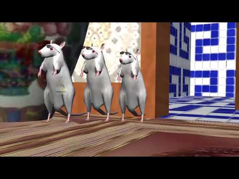 Three Blind Mice    3D Animation English Nursery Rhyme for children