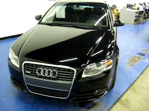 slxi cars for sale 2007 audi a4 2 0t s line black sn829. Black Bedroom Furniture Sets. Home Design Ideas