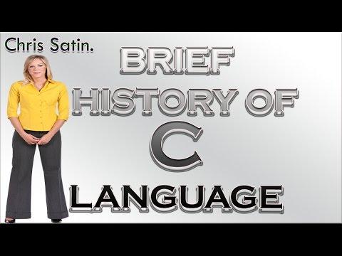 Brief History of the C Programming Language (Simple English/ Subtitle)