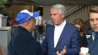 Bob Hugin courts the Latino vote in Jersey City