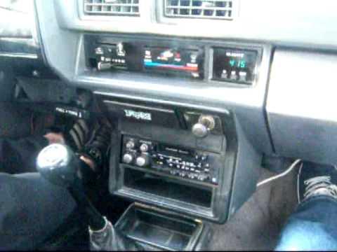 1986 toyota sr5 4x4 xtra cab test drive youtube - 1993 toyota pickup interior parts ...