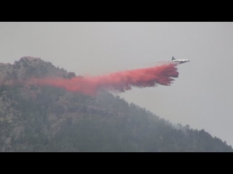 Colorado Wildfire Air Tanker Fight