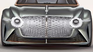 Bentley EXP 100 GT – Next-Gen Sports Luxury Car