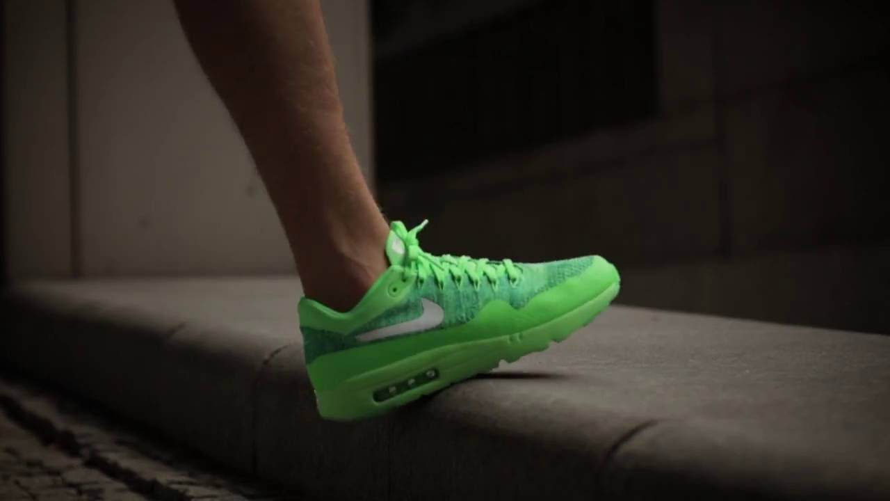 67ef5291c7c Nike Air Max 1 Ultra Flyknit Volt extreme-hosting.co.uk