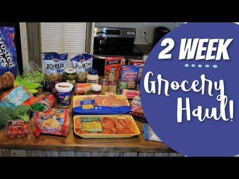 $109 Grocery Haul & Meal Plan | Family of 4!