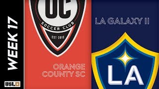 Orange County SC vs. LA Galaxy II: June 29th, 2019