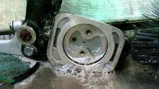 Yamaha RD400 Binding Brakes. RD250