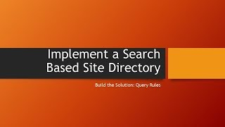 Search Based Site Directory: Part 5