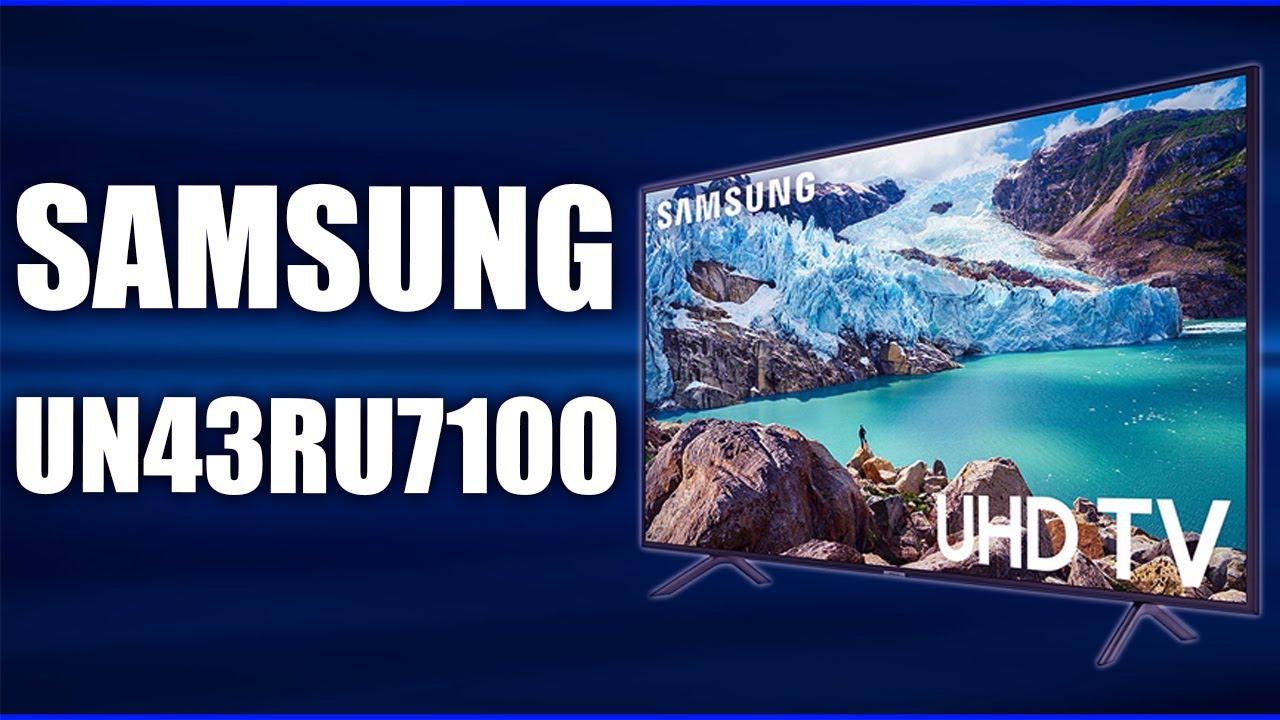 SAMSUNG RU7100 43'Inch model 2019 review by SDM MY GLOBE