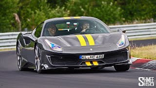 My Friend Bought a FERRARI PISTA for the Nurburgring!