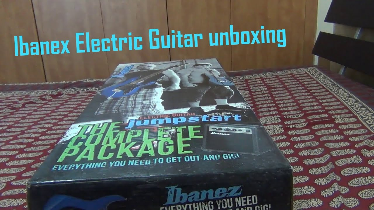 special unboxing ibanez electric guitar unboxing youtube. Black Bedroom Furniture Sets. Home Design Ideas