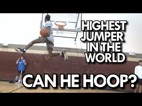 EASTBAY ELBOW DUNK! DOES the HIGHEST JUMPER in the WORLD have GAME? WILL BUNTON!