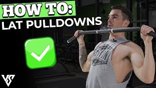 The 3 WORST Lat Pulldown Mistakes You're Making (STOP!)