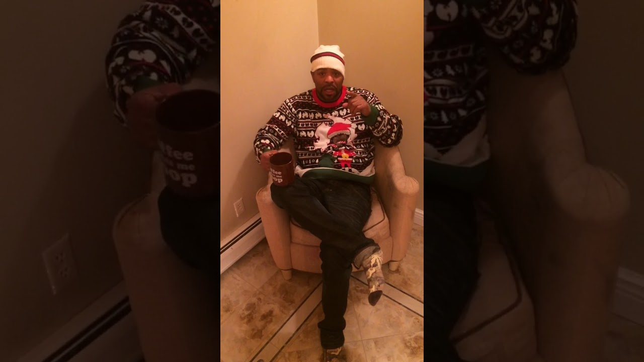 Method Man From Wu Tang Clan Ugly Christmas Sweater Youtube