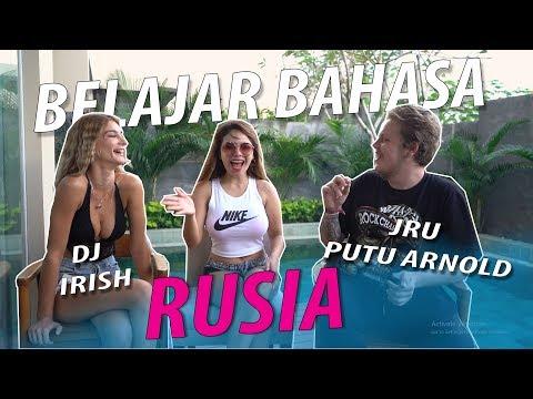 DINAR CANDY BELAJAR BAHASa RUSIA With JRO PUTU ARNOLD & IRISH