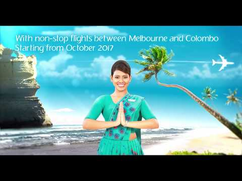 Non-stop flights between Melbourne and Colombo starting from October 2017 !