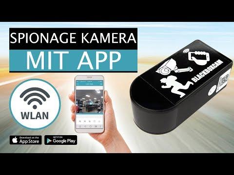 mini wlan spionage kamera mit bewegungserkennung und app. Black Bedroom Furniture Sets. Home Design Ideas