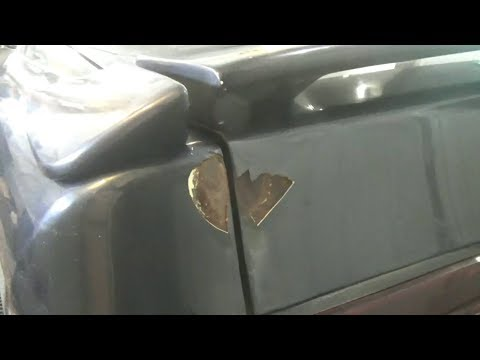 Как подготовить авто к покраске своими руками видео