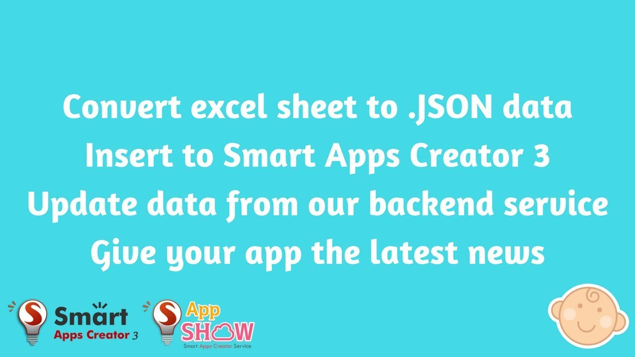 Covert excel sheet to JSON data