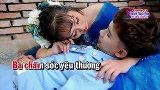 Karaoke vọng cổ CON GÁI CỦA BA - SONG CA [T/g Lý Bông Dừa]