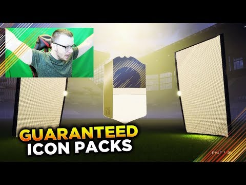 FIFA 18 GUARANTEED ICON SBC PACKS! OMG WE PACKED AN AMAZING ICON