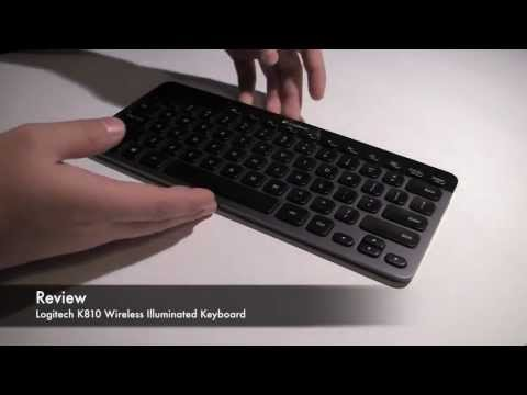 Review : Logitech K810 Wireless Illuminated Keyboard